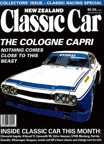 New Zealand Classic Car 76, April 1997