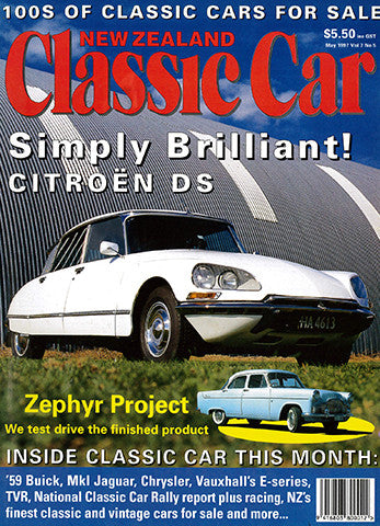 New Zealand Classic Car 77, May 1997