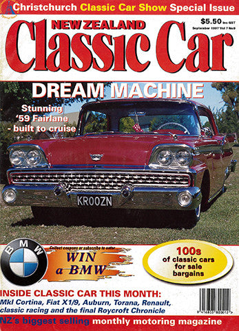 New Zealand Classic Car 81, September 1997