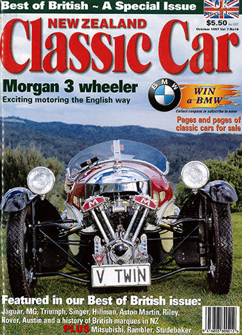 New Zealand Classic Car 82, October 1997