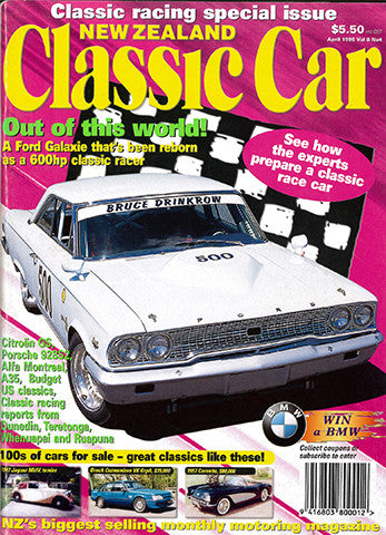 New Zealand Classic Car 88, April 1998