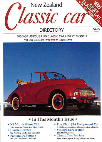 New Zealand Classic Car 8, August 1991