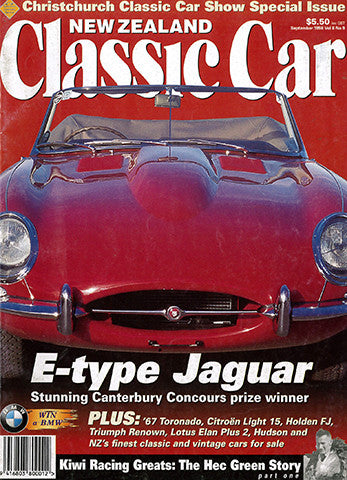 New Zealand Classic Car 93, September 1998