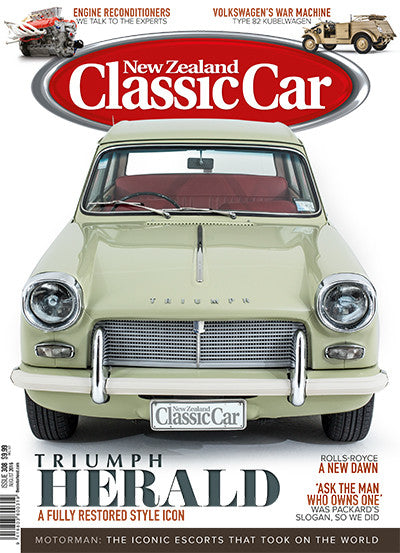 New Zealand Classic Car 308, August 2016