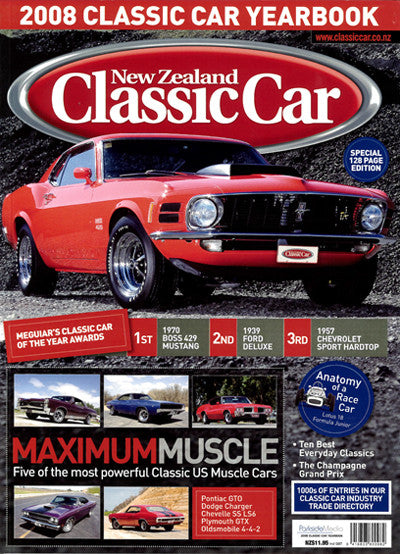 New Zealand Classic Car — Yearbook 2008
