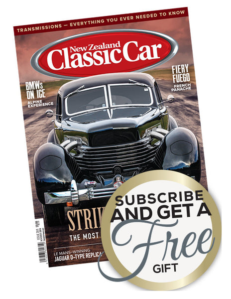 New Zealand Classic Car magazine Christmas offer