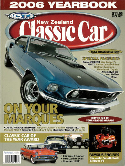 New Zealand Classic Car — Yearbook 2006