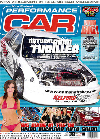 NZ Performance Car 104, August 2005
