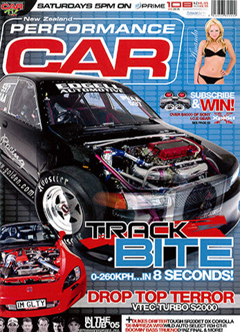 NZ Performance Car 108, December 2005