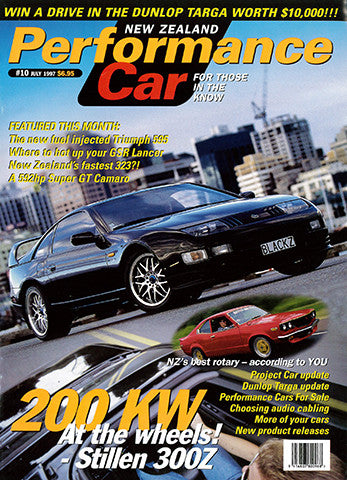 NZ Performance Car 10, July 1997