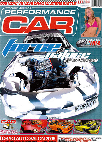 NZ Performance Car 111, March 2006