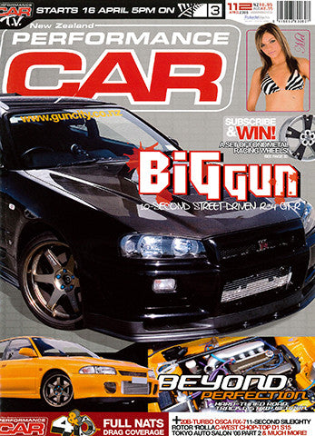 NZ Performance Car 112, April 2006