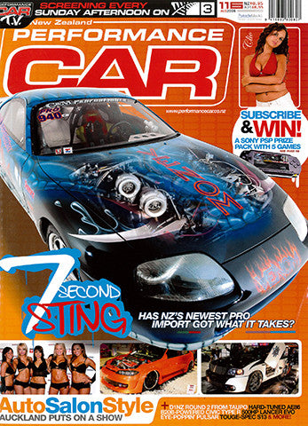 NZ Performance Car 116, August 2006
