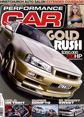 NZ Performance Car 118, October 2006