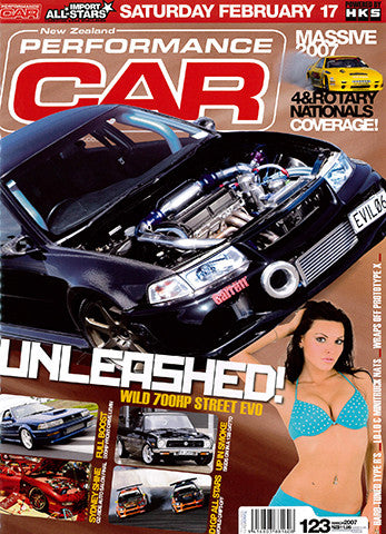 NZ Performance Car 123, March 2007