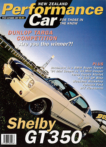 NZ Performance Car 13, October 1997