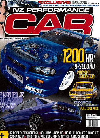 NZ Performance Car 143, November 2008