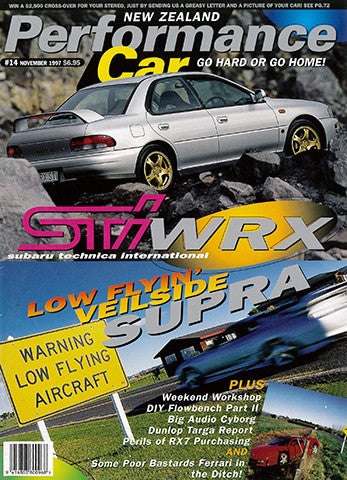 NZ Performance Car 14, February 1998