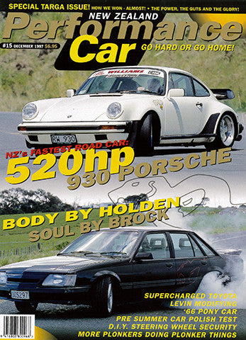NZ Performance Car 15, December 1997