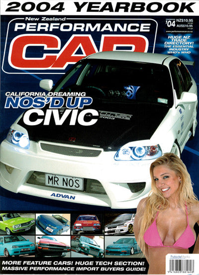 NZ Performance Car Special Edition — Yearbook 2004