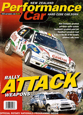 NZ Performance Car 23, November 1998