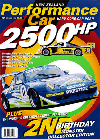 NZ Performance Car 24, December 1998