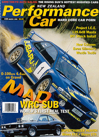 NZ Performance Car 28, April 1999