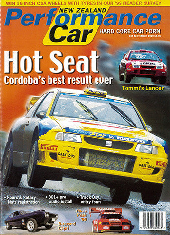 NZ Performance Car 34, September 1999