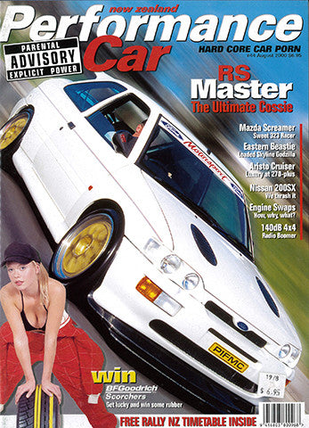 NZ Performance Car 44, August 2000