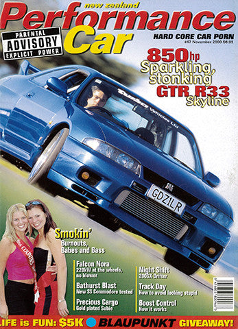 NZ Performance Car 47, November 2000