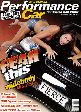 NZ Performance Car 53, May 2001