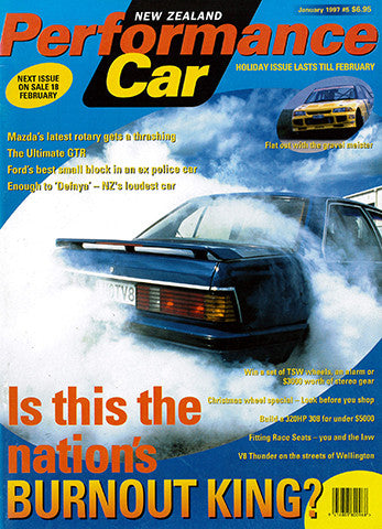 NZ Performance Car 5, May 1997