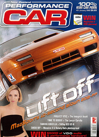 NZ Performance Car 61, January 2002