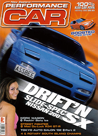 NZ Performance Car 65, May 2002