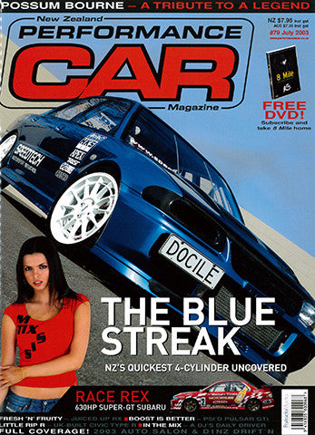 NZ Performance Car 79, July 2003