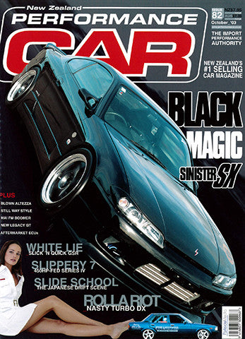 NZ Performance Car 82, October 2003