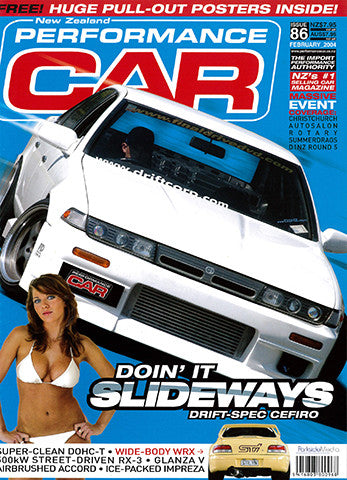 NZ Performance Car 86, February 2004