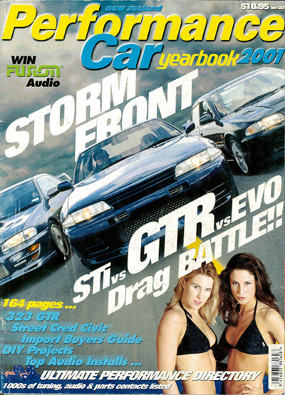 NZ Performance Car Special Edition — Yearbook 2001