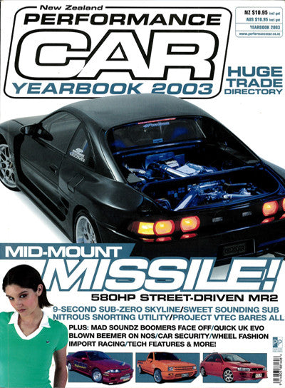 NZ Performance Car Special Edition — Yearbook 2003
