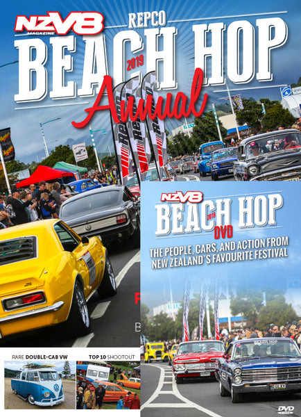NZV8 Beach Hop Annual 2019