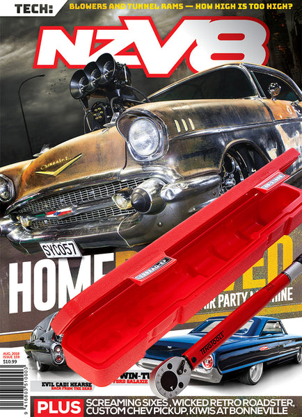 Subscription to NZV8 magazine Father's Day bundle