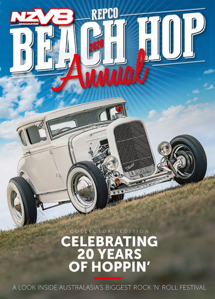 NZV8 Beach Hop Annual 2020