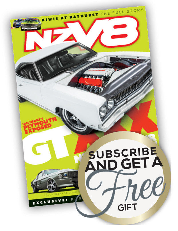NZV8 magazine Christmas offer