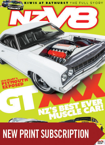 New subscription to NZV8 magazine Real Steal