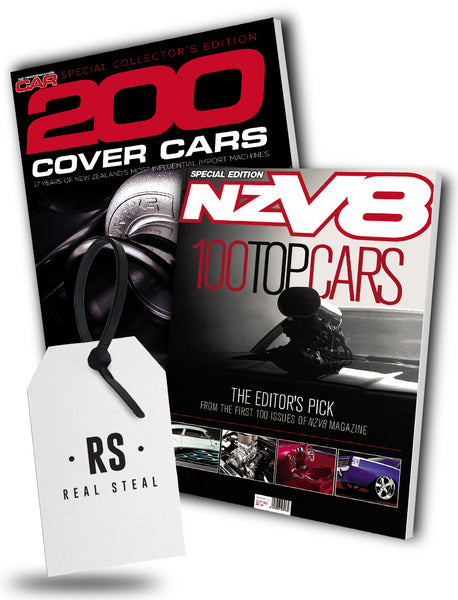 NZ Performance Car 200 Cover Cars Bookazine & NZV8 Top 100 Cars Bookazine