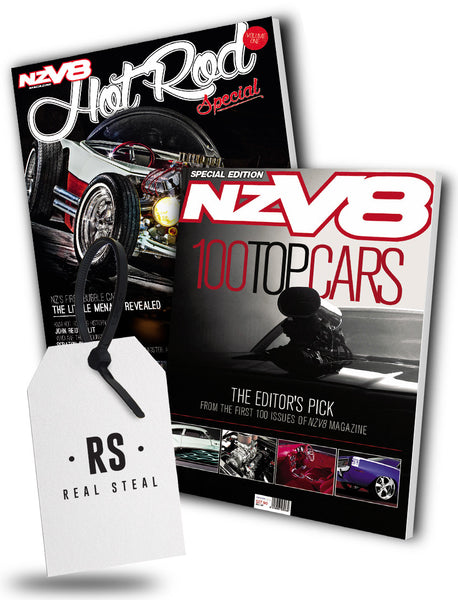 NZV8 Top 100 Cars Bookazine & NZV8 Hot Rod Special
