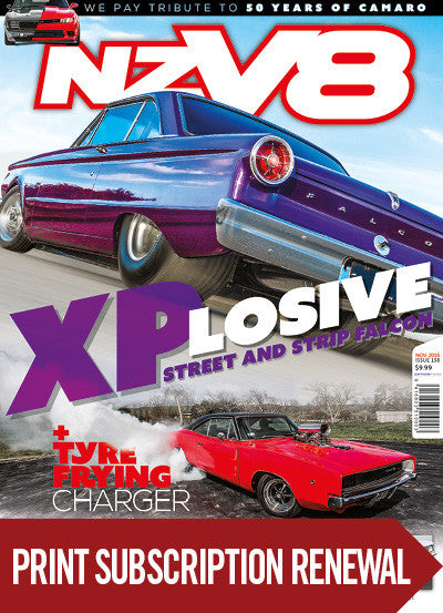 Subscription renewal to NZV8 magazine Big Boys Toys Real Steal