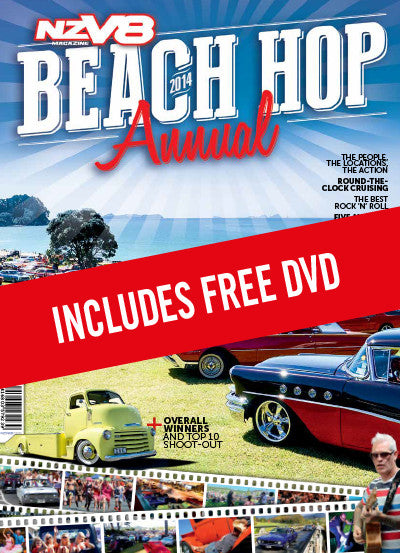NZV8 Beach Hop 2014 Annual