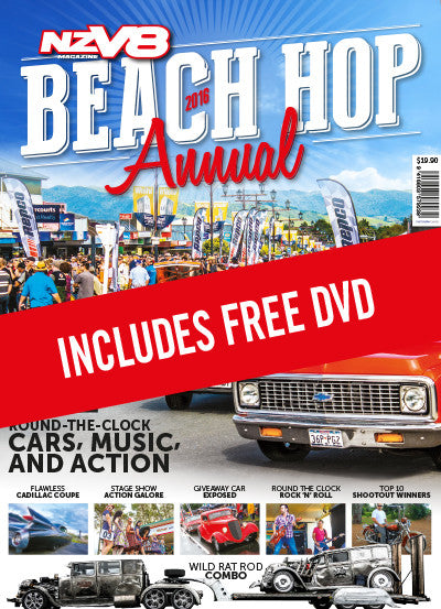 NZV8 Beach Hop 2016 Annual