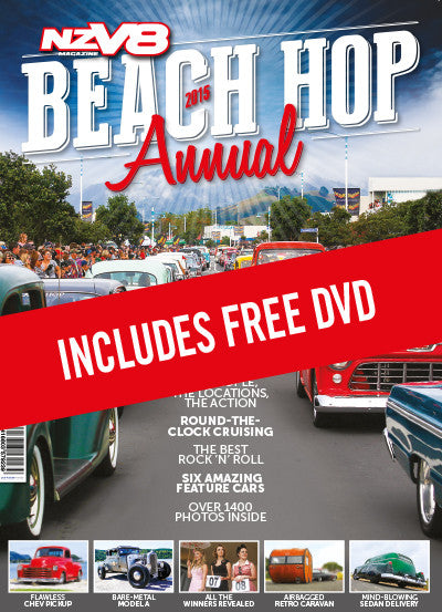 NZV8 Beach Hop 2015 Annual